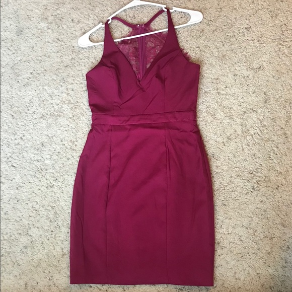 PromGirl Dresses & Skirts - Maroon PromGirl Dress
